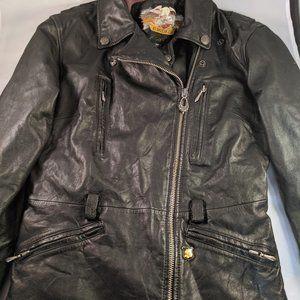 Harley Davidson Woman's Leather Jacket, Size XS